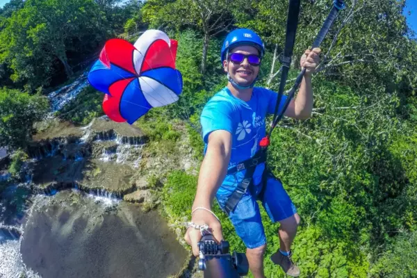 Nascente Azul Adventure - Zip Line and Human Pendulum