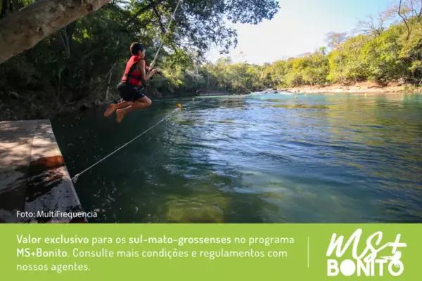 Combo Buraco das Araras e Balneário Jardim Ecopark - MS+Bonito